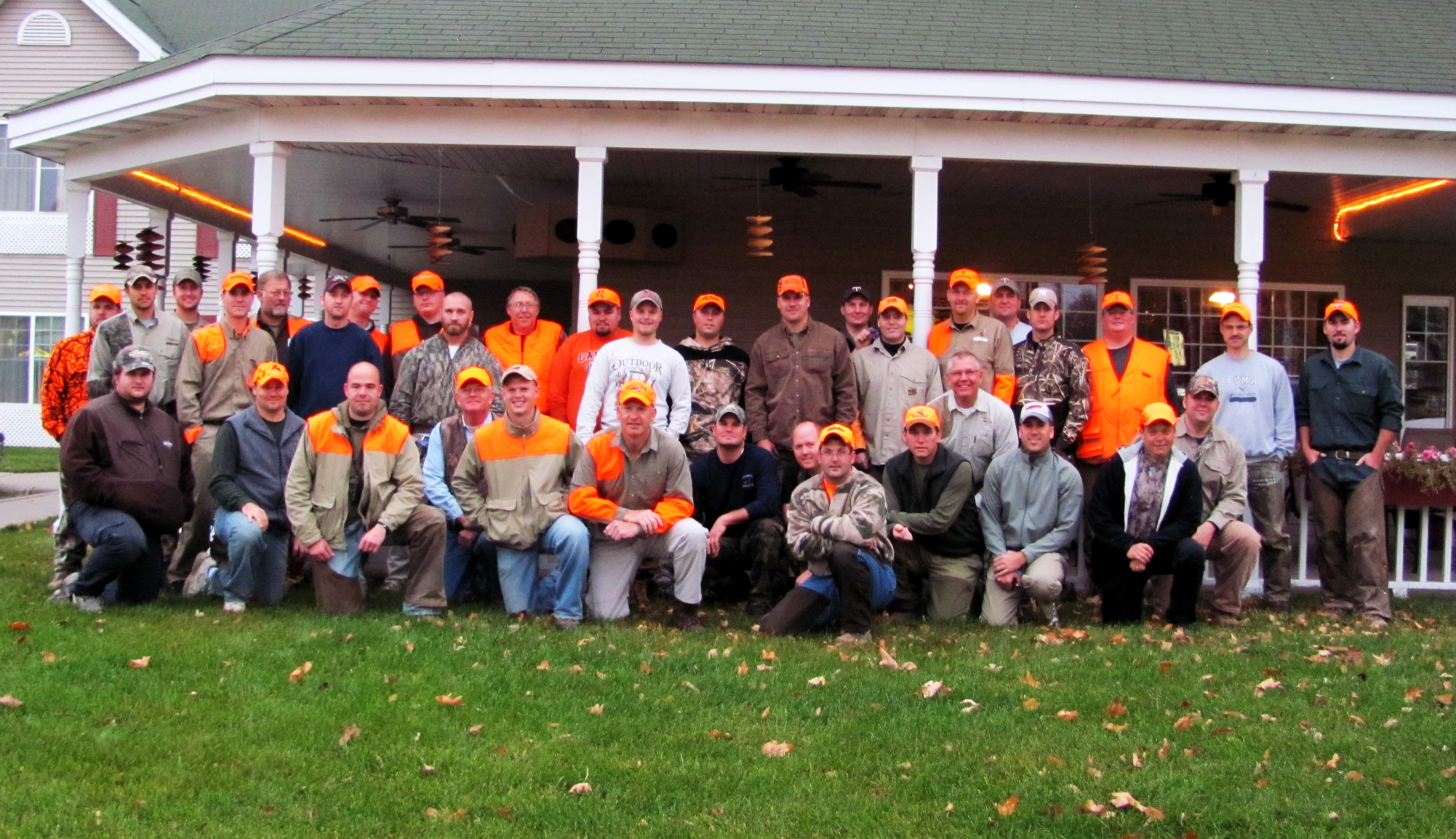 2010 Pheasant Hunt Participants